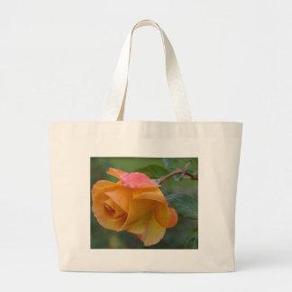 Yellow Roses Dew Petals Bags