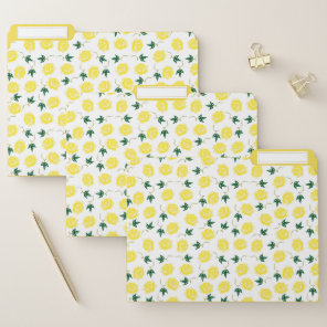 Yellow Roses File Folders