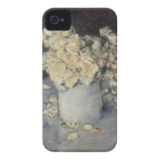 Yellow Roses in a Vase iPhone 4 Case-Mate Cases