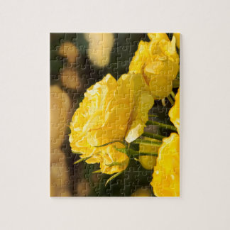 Yellow Roses Jigsaw Puzzle