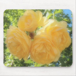 Yellow Roses Mouse Pad