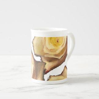 yellow roses mug bone china mug