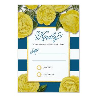Yellow Roses Response Card