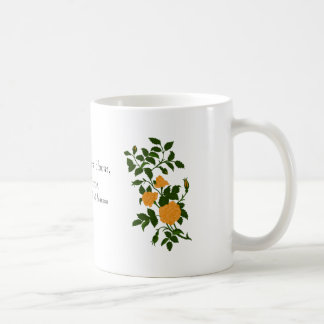 Yellow Roses Vintage Image Coffee Mug