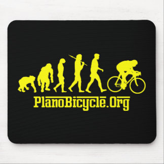 Yellow Rosso Yellow Jersey Cycling Evolution Mouse Pad