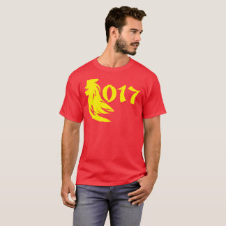 Yellow Roster Chinese New Year 2017 T-Shirt