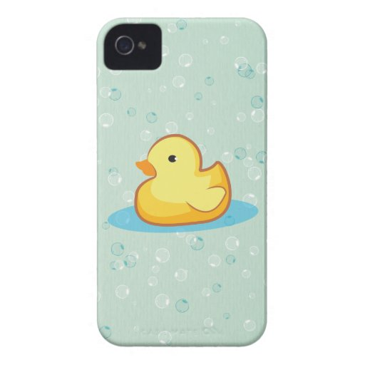 Yellow rubber duck bubbles BlackBerry Bold Case