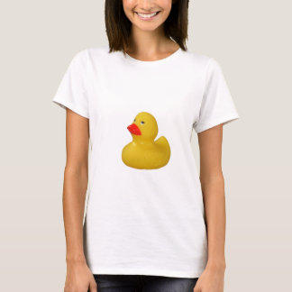 Yellow Rubber Duck cute ladies t-shirt, gift idea T-Shirt