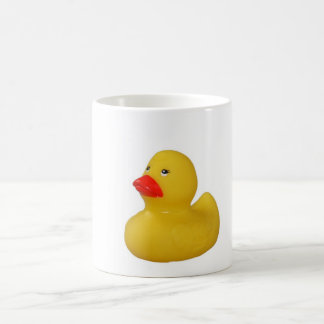 Yellow Rubber Duck cute mug, gift idea Basic White Mug