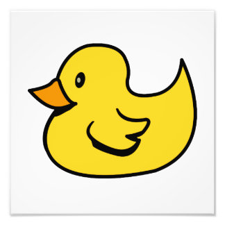 Yellow Rubber Duck Photo Print