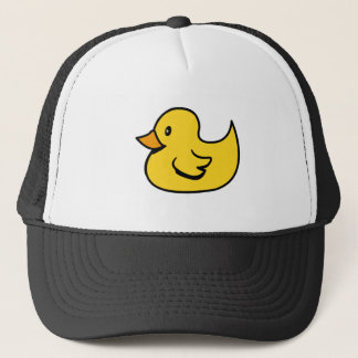 Yellow Rubber Duck Trucker Hat