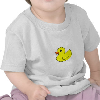 Yellow Rubber Duck Tee Shirts