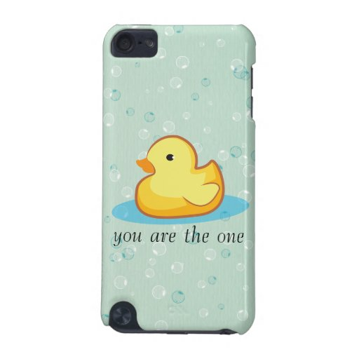 Yellow rubber duck with bubbles iPod Touch Speck iPod Touch 5G Cases
