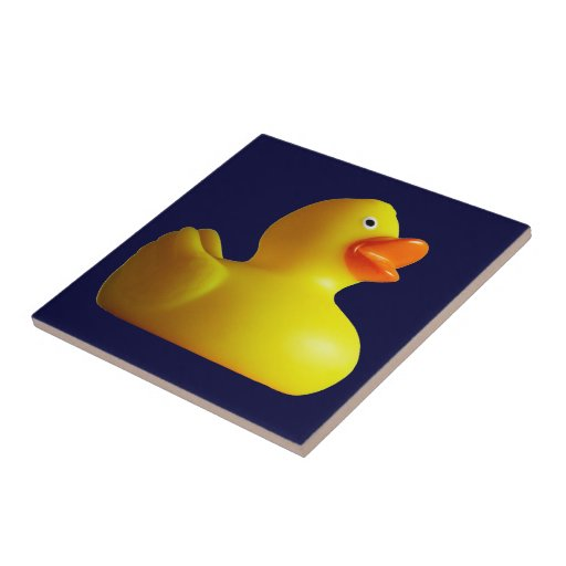Yellow Rubber Duckie Tiles