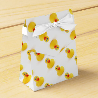 Yellow Rubber Ducks 1st Birthday Wedding Favour Box