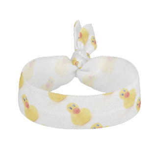 Yellow Rubber Ducks Elastic Hair Tie