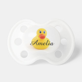 Yellow Rubber Ducks Pacifier