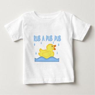 Yellow Rubber Ducky Rub A Dub Dub Baby T-Shirt