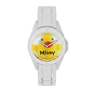 Yellow Rubber Ducky Watches