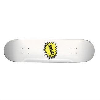 Yellow Sale 21.3 Cm Mini Skateboard Deck