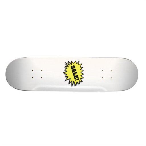 Yellow Sale Skateboards