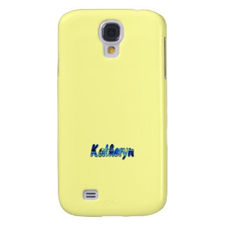 Yellow Samsung Galaxy s4 cover for Katheryn