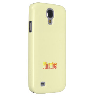Yellow Samsung Galaxy s4 cover for Phoebe