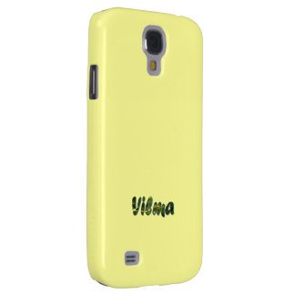 Yellow Samsung Galaxy s4 cover for Vilma