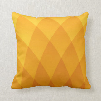 Yellow scale modern geometric Pillow