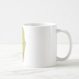 yellow scarred zombie coffee mugs