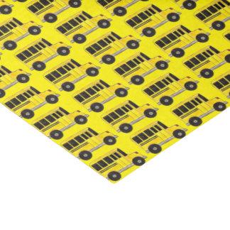 Yellow School Bus Education Teacher Print Tissue Tissue Paper
