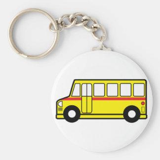 Yellow School Bus Keychain