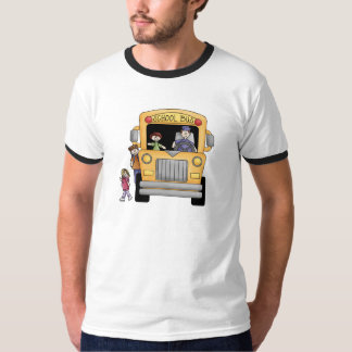 Yellow School Bus Tshirts and Gifts