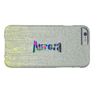 Yellow Scrape iPhone 6 case for Aurora