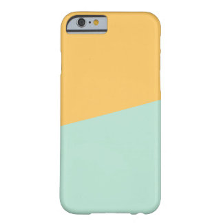 YELLOW + SEAFOAM | iPhone Case Barely There iPhone 6 Case