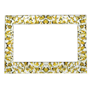 Yellow Shapes Magnetic Frame