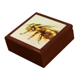 Yellow sketch hornet tile gift box - Bee