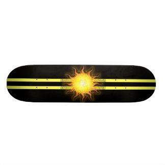Yellow Skunk Sun Skate Boards