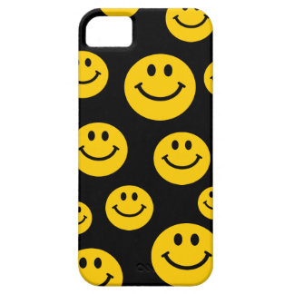 Yellow Smiley Face Barely There iPhone 5 Case