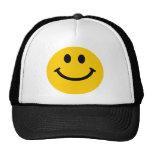 Yellow Smiley Face Cap