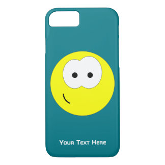 Yellow Smiley Face Emoticon iPhone 7 Case