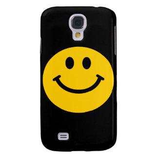 Yellow Smiley Face Galaxy S4 Case
