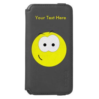 Yellow Smiley Face Incipio Watson™ iPhone 6 Wallet Case