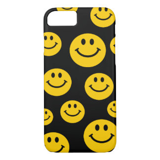 Yellow Smiley Face iPhone 7 Case