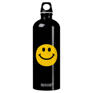 Yellow Smiley Face SIGG Traveller 1.0L Water Bottle