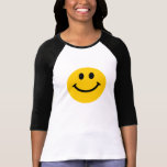 Yellow Smiley Face Tee Shirts