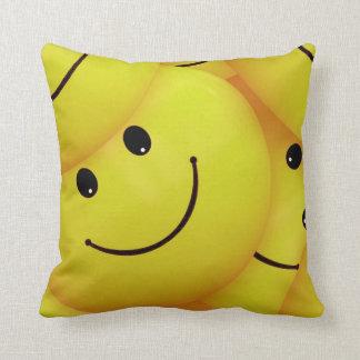 Yellow Smiley Faces Cushion