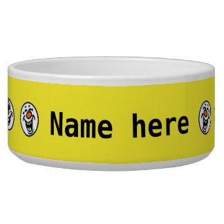 Yellow smiley faces custom name
