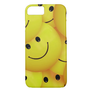 Yellow Smiley Faces iPhone 7 Case