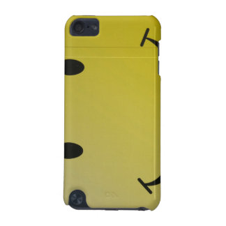 Yellow Smiley iTouch Case iPod Touch 5G Cover